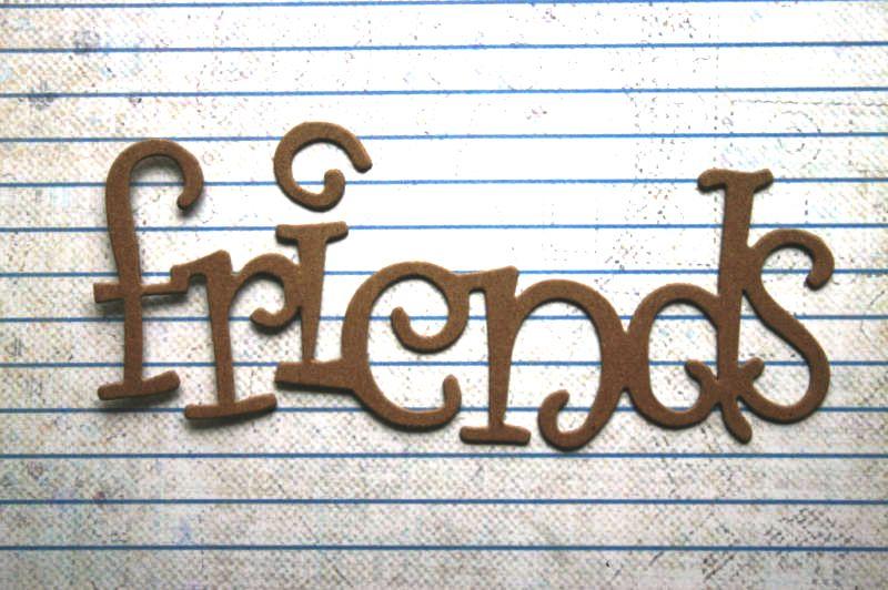 Картинка лучшие друзья словами
