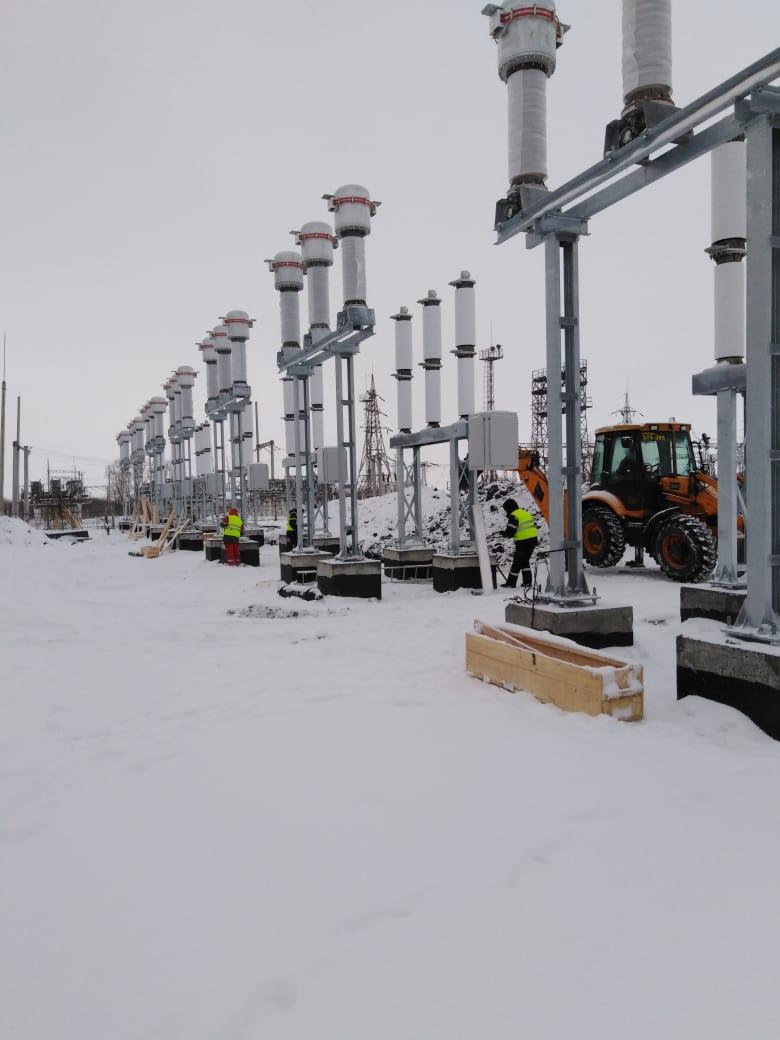 Филиала «Мордовэнерго» реконструирует подстанцию «Алексеевка»