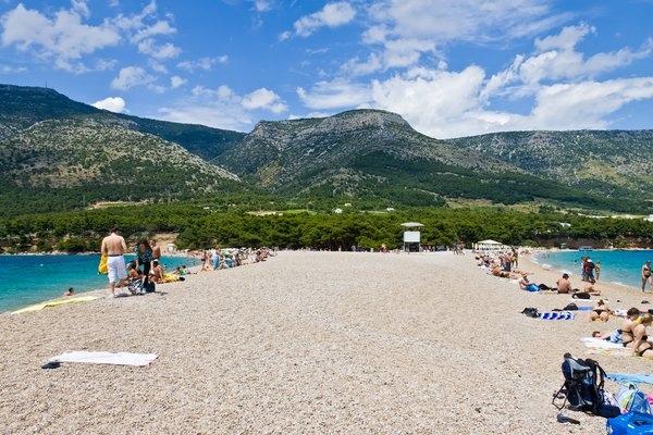 Пляж Золотой рог на острове Брач, Хорватия, изображение №3
