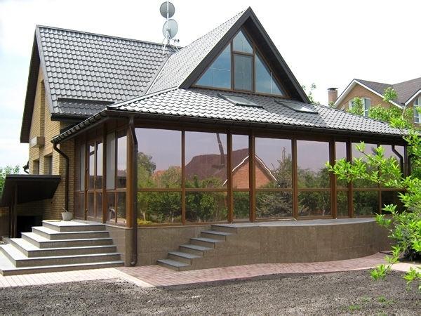 Алюминиевые окна – современное решение для обустройства частных домов, изображение №3