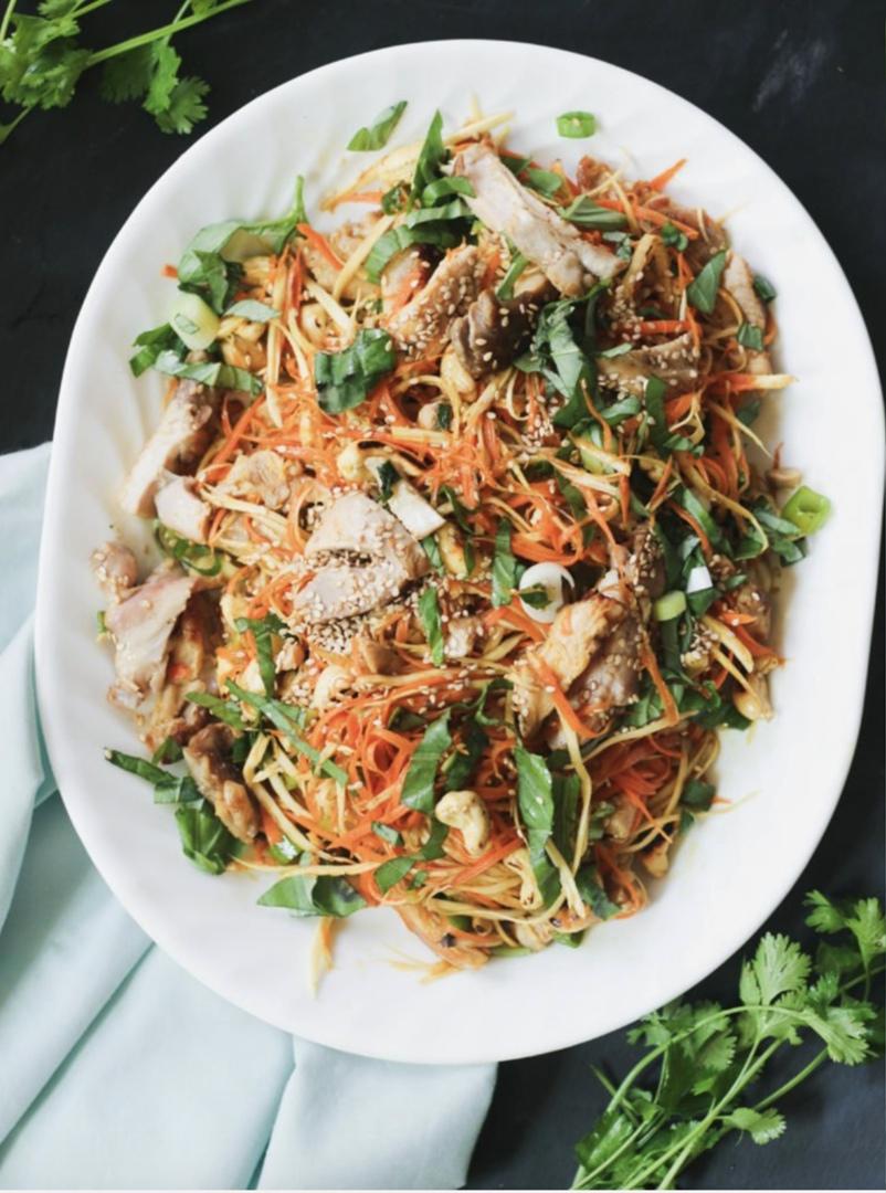 Азиатский куриный салат, изображение №3