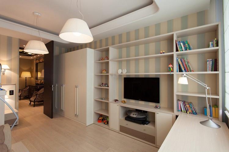 Как визуально увеличить высоту потолка, изображение №2