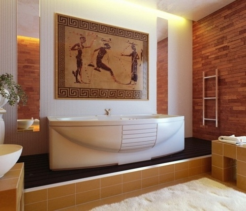 Выбор интерьера и стиля оформления для ванной комнаты, изображение №2