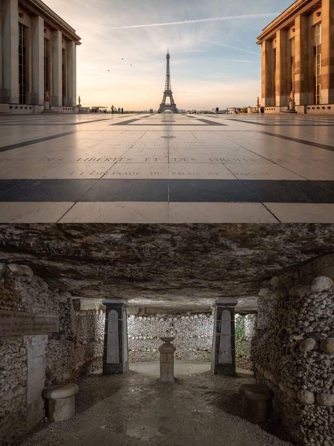 Мир изнутри: фотограф показал, что находится под известными достопримечательностями, изображение №2