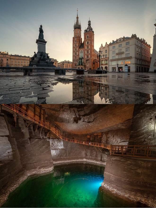 Мир изнутри: фотограф показал, что находится под известными достопримечательностями, изображение №5