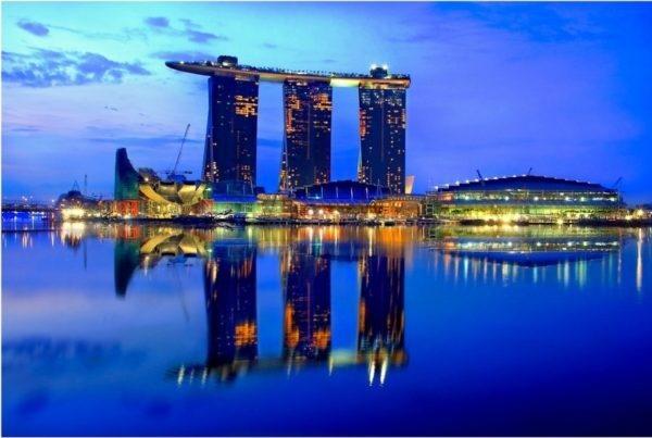 Уникальный отель Marina Bay Sands в Сингапуре., изображение №6