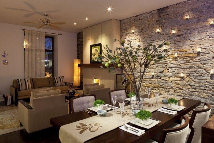 Использование натурального камня в дизайне домов, изображение №2