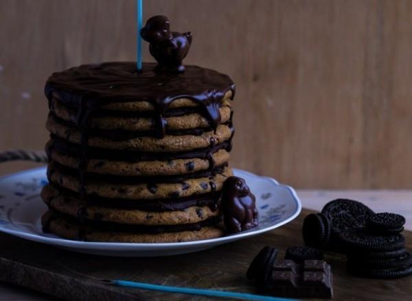 Торт из печенья с шоколадной крошкой