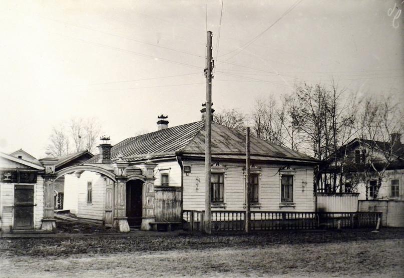Дом И. Х. Раша. Начало XX в.