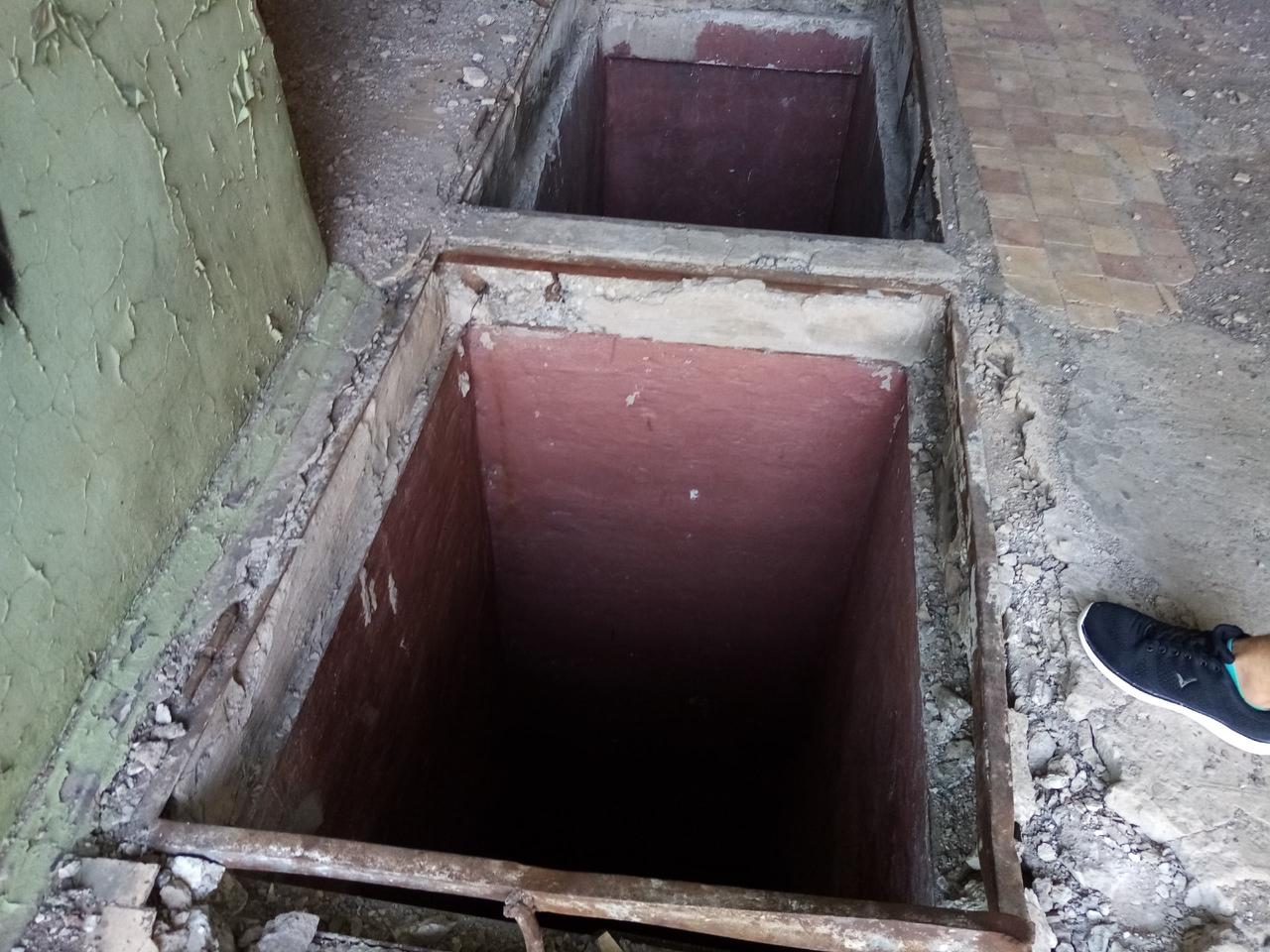 Подземные проходы под заводом имени Масленникова.